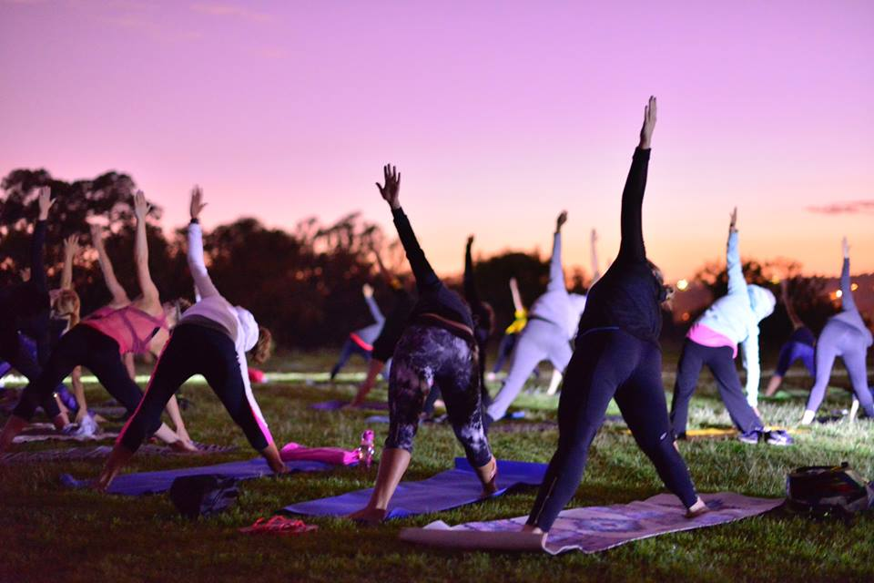 Yoga at Secret Sunrise Johannesburg