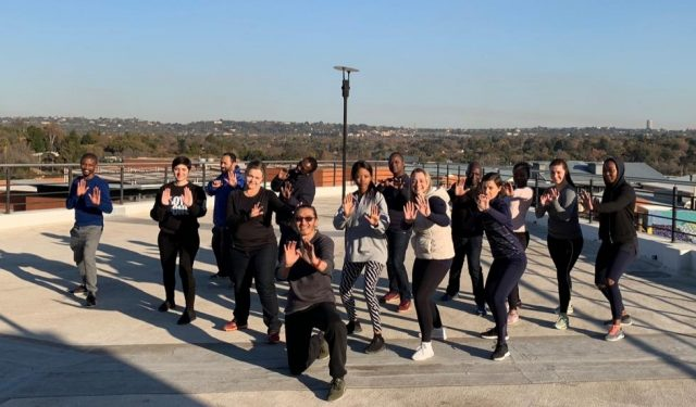 Fire and Ice Tai Chi Team Building