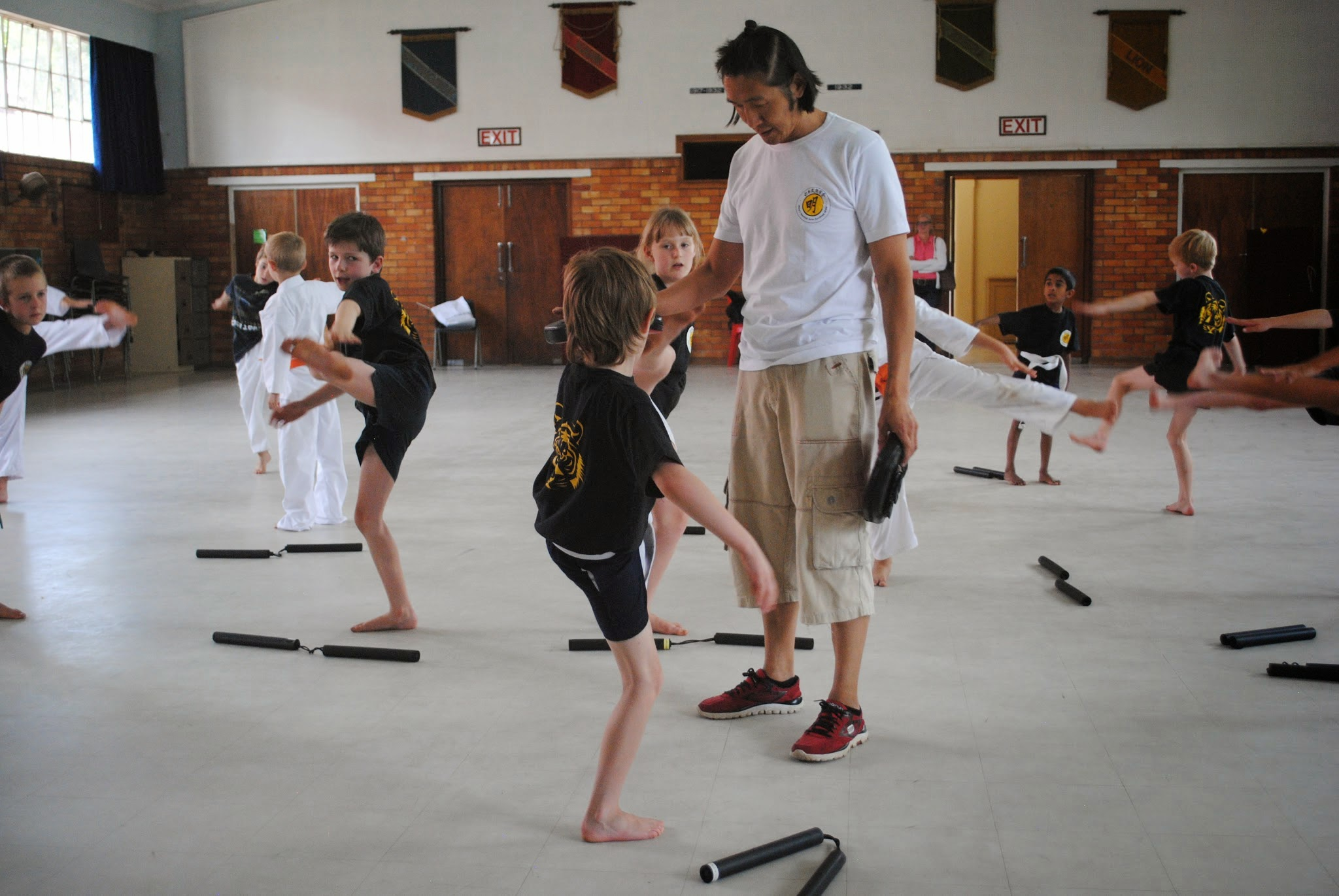 Children with ADHD benefit from Karate Classes