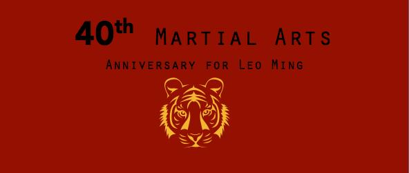 40th Martial Arts Training Anniversary