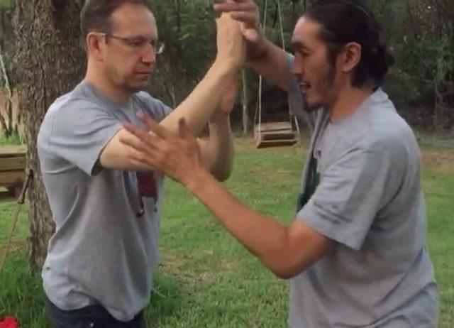 Push Hands in Tai Chi